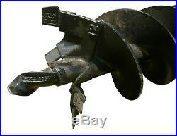 12 HD Auger Bit 2 Hex Skid Steer Loader Attachment Bobcat Kubota CAT Mustang