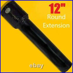 12 Skid Steer Auger Extension, Fits 2.5 Round Auger Bits, Fixed Length, McMillen