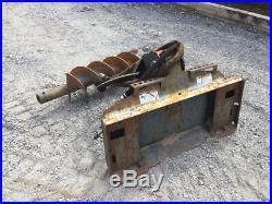 2013 Bobcat 15C Hydraulic Post Hole Digger with Auger For Skid Steer Loaders