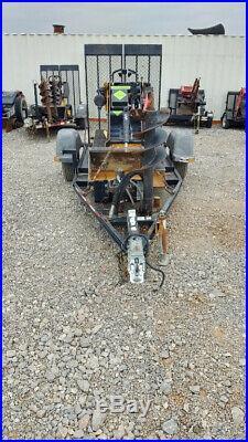 2013 Boxer 320 Mini Track Skid Steer Walk Behind Auger