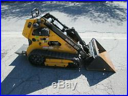 2014 Boxer Model 320 Mini Skid Steer With Post Hole Auger And 2 Bits