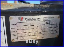 2014 Bradco Paladin 625 Trencher 48