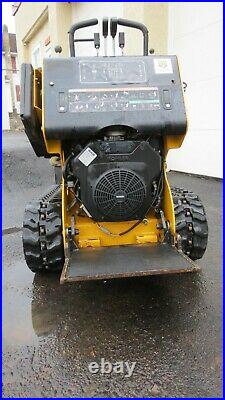 2015 Model Boxer 320 Skid Steer with Bucket and Auger Package- With Trailer