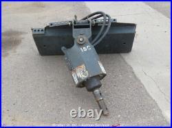 2016 Bobcat 15C Auxiliary Hydraulic Skid Steer Attachment Q/C bidadoo -Repair