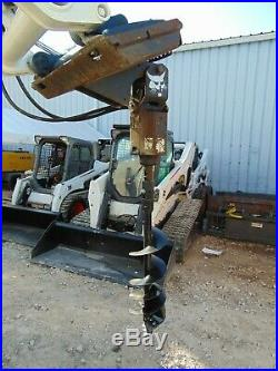 2016 Bobcat Brand 15c Skid Steer Auger Attachment New 12 Bit Included