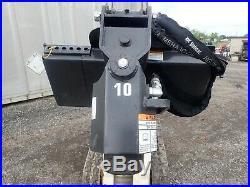 2018 Bobcat Model 10 Auger Unit For Skid Steer Loaders, Fits Mt55, Mt85 & S70