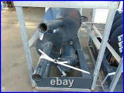 2021 New Universal Skid Steer Auger Fence Post Drill Attachment 2 Bits Included