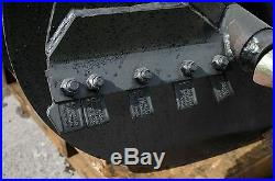 30 x 48 Skid Steer Auger Bit, Made in USA Fits all 2 Hex Auger Drives