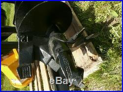 6 HD Auger Bit 2 Hex 48 OAL for Skid Steer Loader Auger Drive Attachment