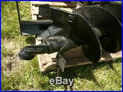 8 HD Auger Bit 2 Hex 48 OAL for Skid Steer Loader Auger Drive Attachment