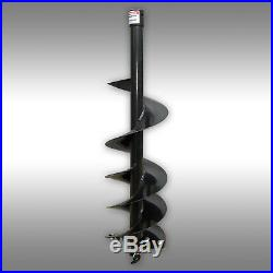 AUGER DRILL BIT, 9 POST HOLE DRILL BIT for Skid steer