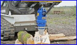 AUGER LOG SPLITTER CONE / BIT Skid Steer Loader Excavator Attachment Wood Screw