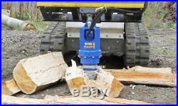 AUGER LOG SPLITTER CONE / BIT Skid Steer Loader Excavator Wood Screw 2 HEX
