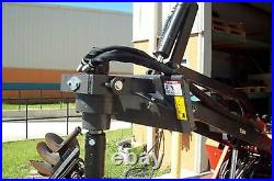 Auger Drive for Mini Skid Steer Loader, McMillen X900, Requires 8- 6 GPM w 9Bit