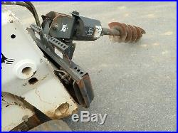 BOBCAT 15C AUGER With 12 BIT FOR SKID STEER LOADERS, SSL QUICK ATTACH, FITS MANY
