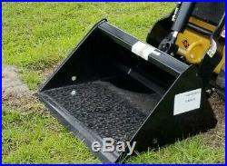BOXER 320 MINI SKID STEER LOADER ON TRACKS With ATTACHMENTS BUCKET, AUGER, BIT