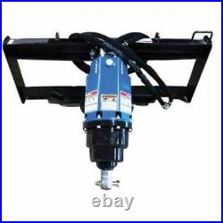 Blue Diamond Skid Steer, Post Hole Auger Assembly, Planetary Drive, Heavy Duty
