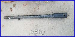 Bobcat 48 Auger Extension 2-9/16 round shaft skid steer excavator