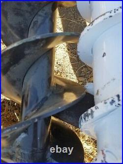 Bobcat 6 X 48 Rock Ripper Auger Bit Skid Steer 2 Hex Drive Extreme Duty