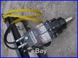 Bobcat Skid Steer Attachment Danuser EP 10 Hex Auger Drive Unit Ship $199