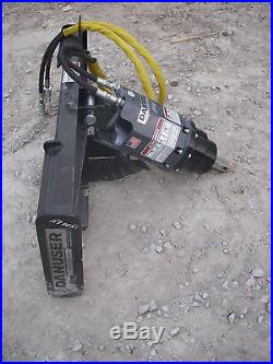Bobcat Skid Steer Attachment Danuser EP 10 Hex Auger with 12 Bit Ship $199