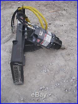 Bobcat Skid Steer Attachment Danuser EP 10 Hex Auger with 24 Bit Ship $199