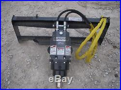 Bobcat Skid Steer Attachment Danuser EP 10 Hex Auger with 9 Bit Ship $199