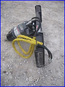 Bobcat Skid Steer Attachment Danuser EP 20 Hex Auger Drive Unit Ship $199