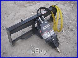 Bobcat Skid Steer Attachment Danuser EP 6 Hex Auger with 9 Bit Ship $199