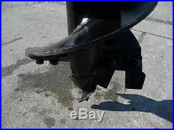 Bobcat Skid Steer Attachment Lowe 12 Round Post Hole Auger Bit Ship $99
