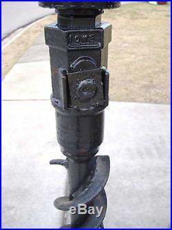 Bobcat Skid Steer Attachment Lowe 4 Round Post Hole Auger Bit Ship $69