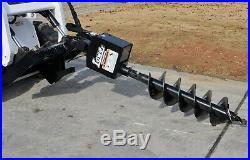 Bobcat Skid Steer Attachment Lowe 750 Classic Hex Auger 12 Bit