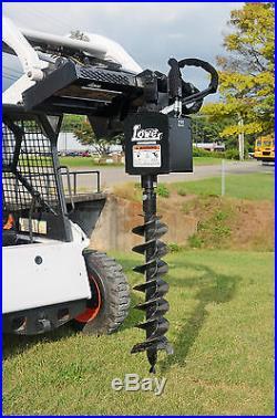 Bobcat Skid Steer Attachment Lowe 750 Classic Hex Auger 9 Bit Ship $199