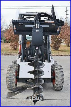 Bobcat Skid Steer Attachment Lowe 750 Classic Hex Auger with 15 Bit Ship $199