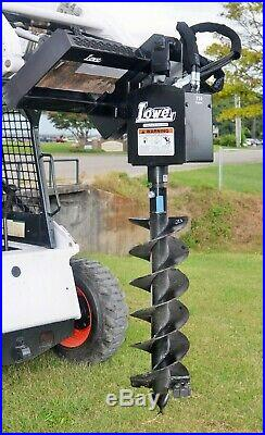 Bobcat Skid Steer Attachment Lowe 750 Classic Round Auger 12 Bit
