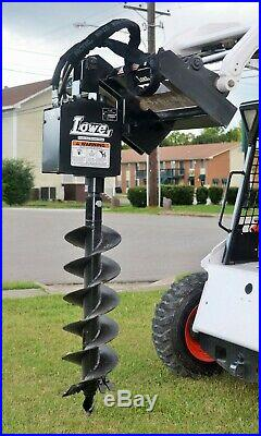Bobcat Skid Steer Attachment Lowe 750 Classic Round Auger 12 Bit