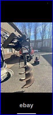 Bobcat Skid Steer Attachment Lowe 750 Classic Round Auger 24 Bit