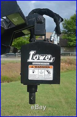 Bobcat Skid Steer Attachment Lowe 750 Classic Round Auger Drive Unit Ship $199