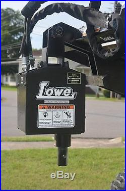 Bobcat Skid Steer Attachment Lowe 750 Classic Round Auger with 18 Bit Ship $199