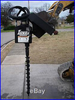 Bobcat Skid Steer Attachment Lowe 750 Hex Classic Auger with 4 Bit Ship $199
