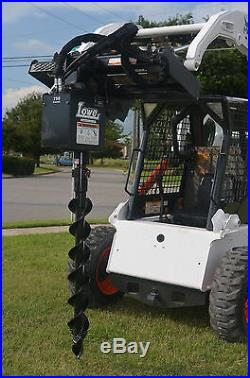 Bobcat Skid Steer Attachment Lowe 750 Round Auger Drive with 4 Bit Ship $199