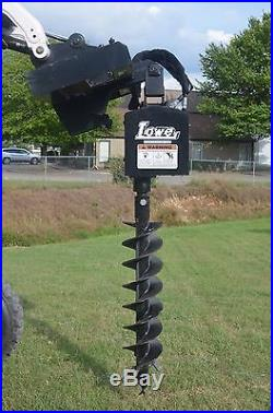 Bobcat Skid Steer Attachment Lowe 9 Round Post Hole Auger Bit Ships for $99
