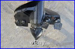 Bobcat Skid Steer Attachment Lowe BP210 Hex Auger Drive with 15 Bit Ship $199