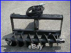 Bobcat Skid Steer Attachment Lowe BP210 Hex Auger with 12 Hex Bit Ship $199
