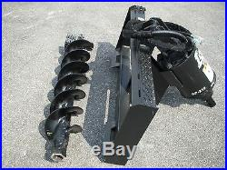 Bobcat Skid Steer Attachment Lowe BP210 Hex Auger with 9 Bit Ship $199