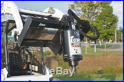 Bobcat Skid Steer Attachment Lowe BP210 Round Auger with 12 Bit Ship $199
