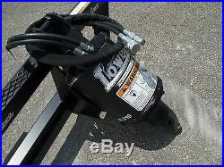 Bobcat Skid Steer Attachment Lowe BP210 Round Auger with 18 Bit Ship $199