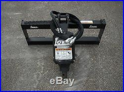 Bobcat Skid Steer Attachment Lowe BP210 Round Auger with 24 Bit Ship $199