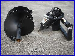 Bobcat Skid Steer Attachment Lowe BP210 Round Auger with 30 Bit Ship $199
