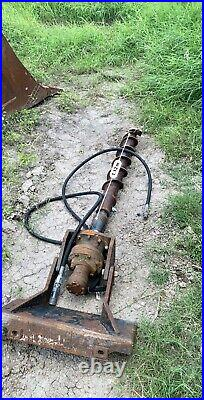 Bobcat Skid Steer Auger 5ft deep, standard bit